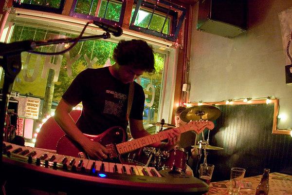 the vita ruins guitarist, keyboard player and vocalist, greg balleza