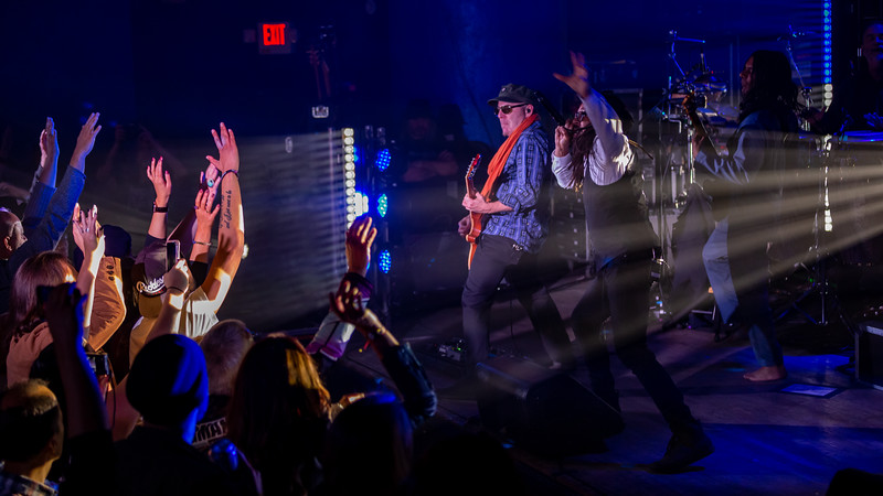 Thievery Corporation at the Vogue Theatre in Indianapolis, IN on October 25, 2019. Photo by Tony Vasquez.