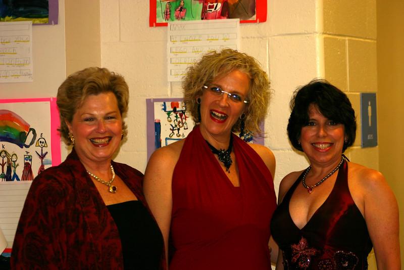 Karen P, Sue B and Cindy V