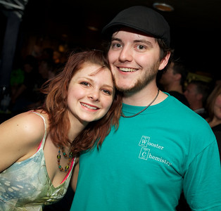 Jess Diller and Jesse Rossington of Bucyrus, OH at Bogart's on Sunday for Three Days Grace