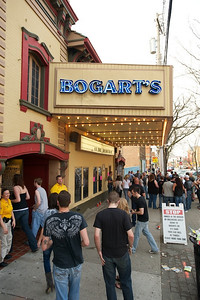 Fans pile in to Bogart's to see Three Days Grace on Sunday