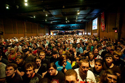 Bogart's was packed on Sunday for Three Days Grace