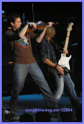 Jason and Keith jamming