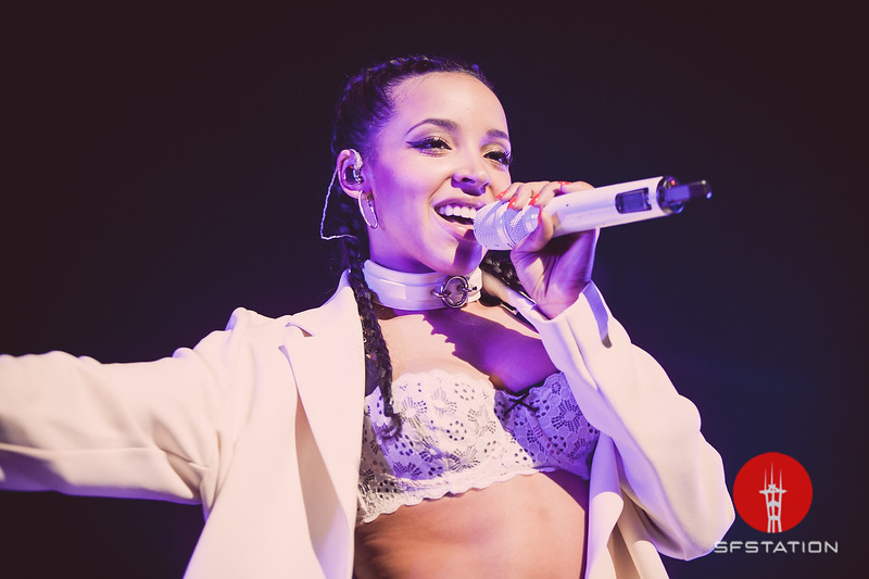 Tinashe  Apr 5, 2016 at The Warfield