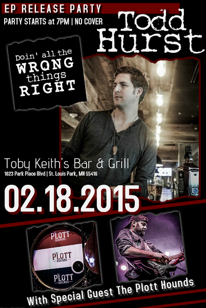 Todd Hurst | EP Release Party