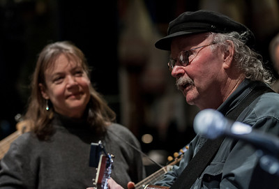 Tom Paxton and Molly Mason.