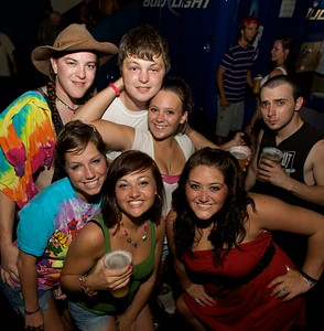 The Mary Jane's Last Dance crew from Hebron, KY at Riverbend Thursday for Tom Petty and the Heartbreakers