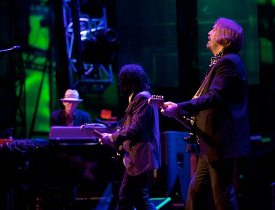 Benmont Tench, Mike Campbell and Tom Petty
