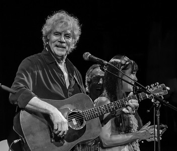 Tom Rush, Tom Chapin and  Maura Kennedy performing at Tarrytown Music Hall,  Tarrytown, NY, 6/18/16.