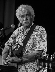 Tom Rush, sound check, 6/18/16, Tarrytown Music Hall, Tarrytown, NY.