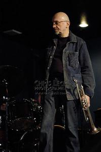 Tomasz Stanko Quartet at Blue Monk, Portland, Oregon, on March 18, 2005. Tomasz Stanko (trumpet), Marcin Wasilewski (piano), Slawomir Kurkiewicz (double-bass), Michal Miskiewicz (drums).