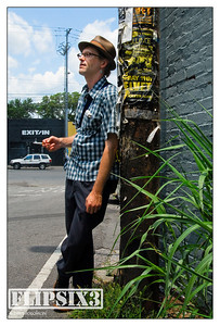 Tommy across the street from Nashville's famous Exit/In venue
