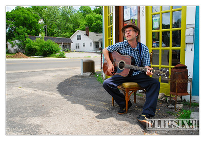 Tommy Womack outside 'The Family Wash' - Nashville, TN