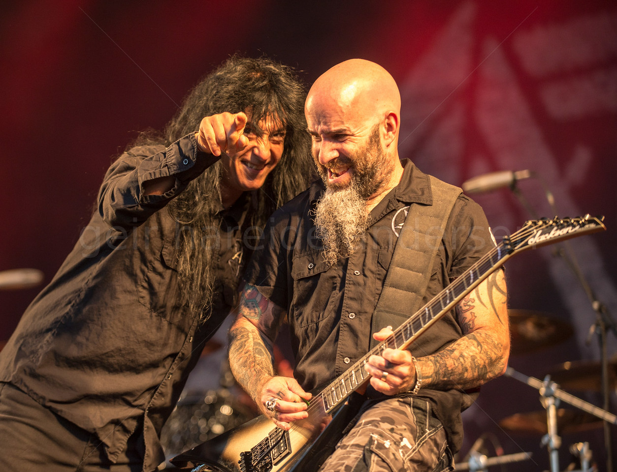 Anthrax at Tons of Rock