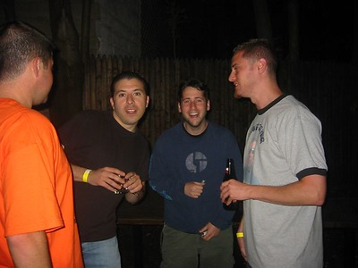 Pete, Tony, Darren, Justin