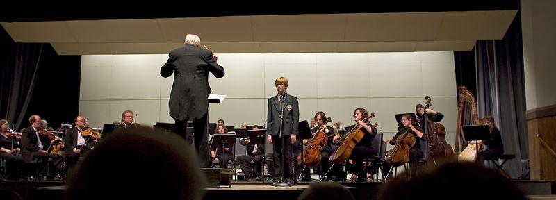 Torsten, singing the Bernstein Chichester Psalms.