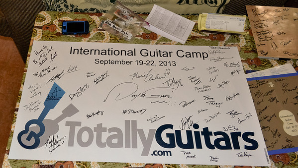 Totally Guitars Camp 2013