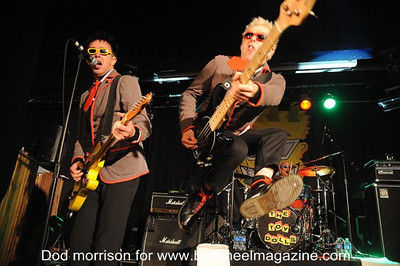 Toy Dolls - at North Shore - Sunderland, UK - November 2, 2013