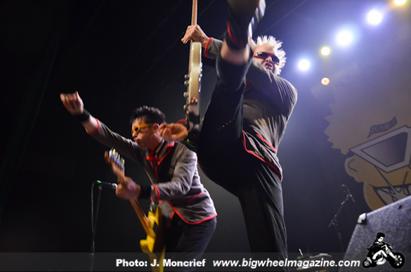 The Toy Dolls with The Adolescents - at The Fonda Theatre - Los Angeles, CA - April 17, 2014