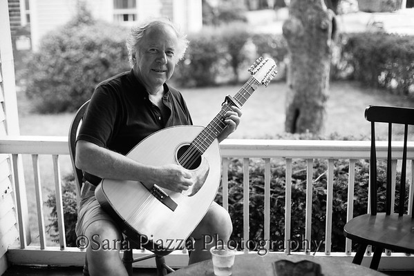 Edgartown trad sessions, Irish music, Nikos Appolonio, bouzouki, cittern