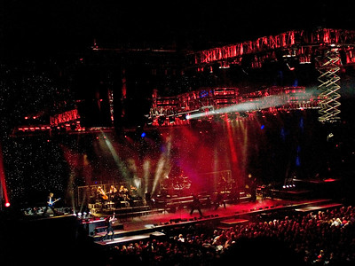 The Trans Siberian Orchestra with the best laser light show in rock & roll live in Atlantic City in 2008.