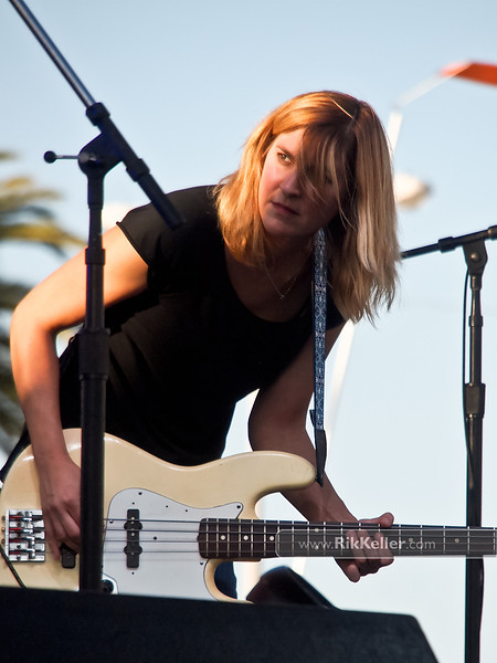 Joanna Bolme of Stephen Malkmus & The Jicks