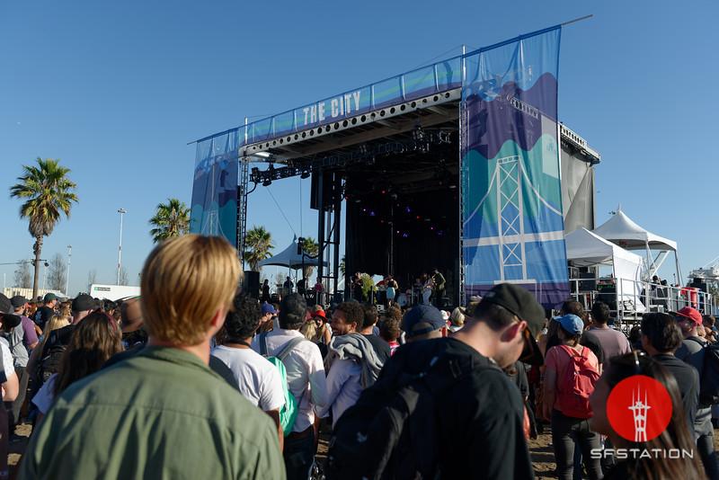 Treasure Island Music Festival 2018 - Sunday, Oct 14, 2018 at Middle Harbor Shoreline Park in Oakland