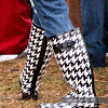 Rubber houndstooth