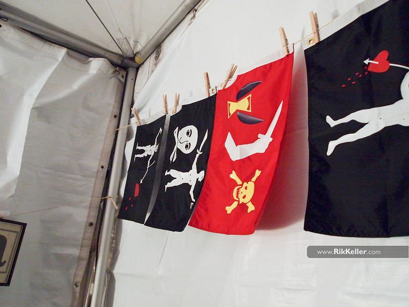 "Pirate flags from 826 Valencia<br />  <a href=""http://www.826valecia.org"">http://www.826valecia.org</a>"