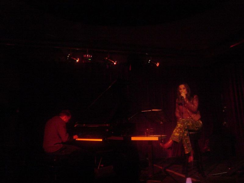 Trijntje and her piano player