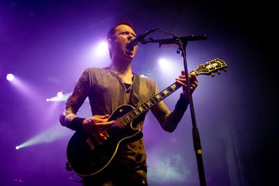 Trivium, 2/6/2012, Regency Ballroom, San Francisco