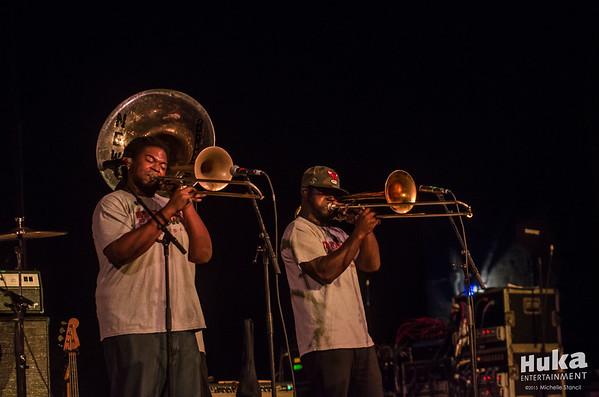 Trombone Shorty & Galactic 12.16.15 at Saenger