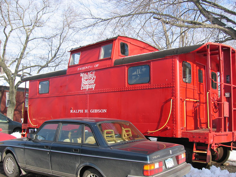 Always nice to start with a Red Caboose!!