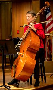 "Elisabeth Ellison playing the ""G-violone"""