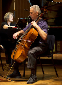 Norman Fisher playing, Jeanne Fischer Kierman tracking