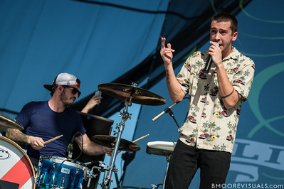 Josh Dun and Tyler Joseph of Twenty One Pilots perform on December 1, 2012 during 97X Next Big Thing at Vinoy Park in St. Petersburg, Florida