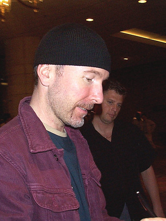 2001-06-06 Boston - Edge and Adam