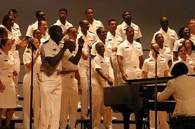 USNA Gospel Choir.