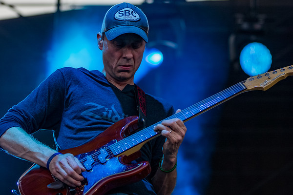 August 11, 2018 Umphrey's McGee at the Farm Bureau Insurance Lawn in Indianapolis, Indiana. Photo by Tony Vasquez for Jams Plus Media.
