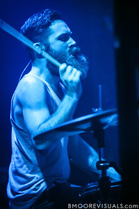 Daniel Davison of Underoath performs during their final show on January 26, 2013 at Jannus Live in St. Petersburg, Florida