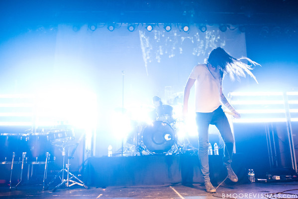 Spencer Chamberlain of Underoath performs in support of Ø (Disambiguation) on November 26, 2010 at The Ritz in Ybor City, Tampa, Florida