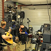 Band - Vain Glorious practice in storage unit #363. John McCloskey (R) and Bradley Brown (L).