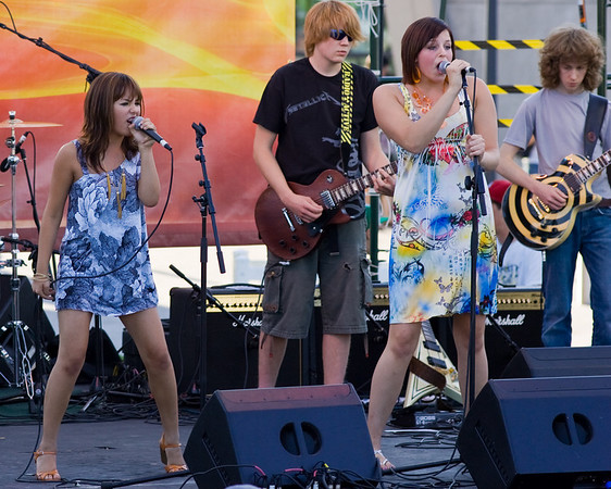 Utah Arts Festival 2008<br /> School of Rock band - and these teenagers were really rockin!<br /> aspect ratio: 4:5