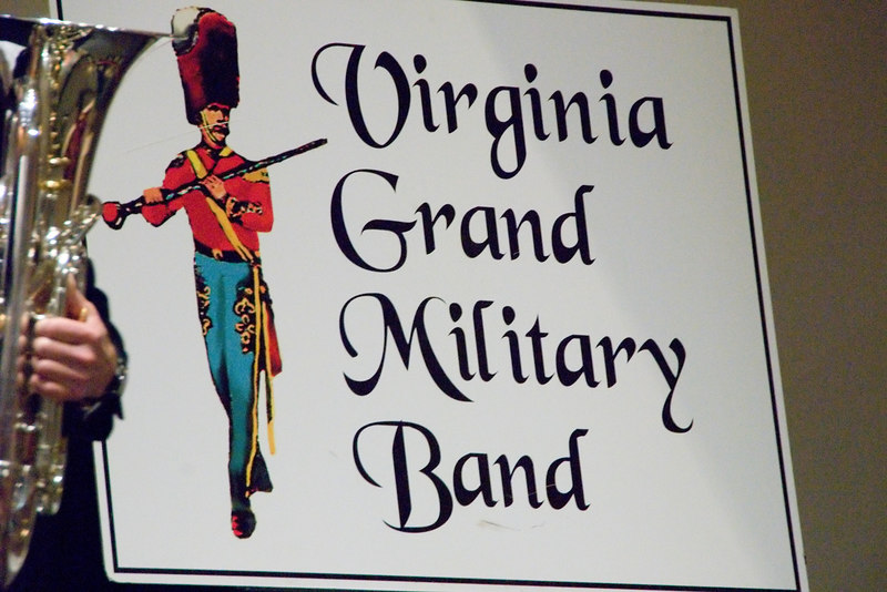 virginia Grand Military Band performance of 1/13/07