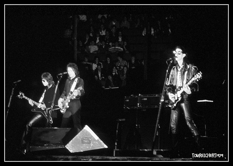 THE CARS CIRCA 1979 NASSAU COLISEUM NEW YORK