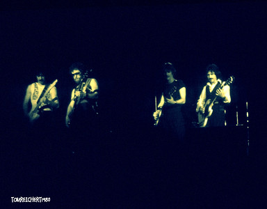 BLUE OYSTER CULT CIRCA 1980 - NASSAU COLISEUM , NEW YORK