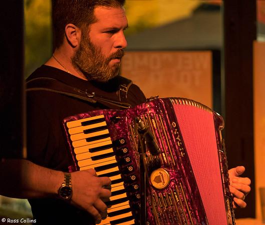 Vincent Vega Trio at the Hotel Bristol, Wellington, 5 March 2015