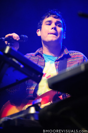 Rostam Batmanglij of Vampire Weekend performs on October 12, 2010 at Jannus Live in St. Petersburg, Florida.