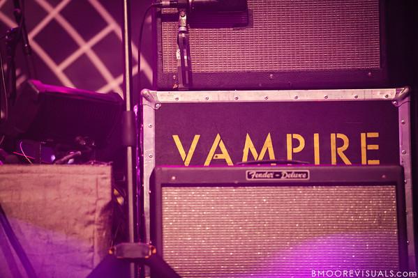 Vampire Weekend perform on October 12, 2010 at Jannus Live in St. Petersburg, Florida.