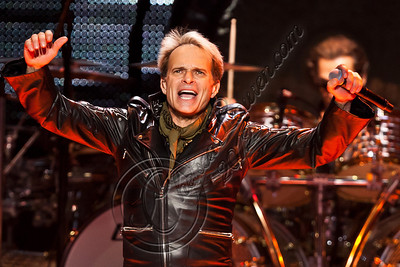 LOS ANGELES, CA - JUNE 09:  Vocalist David Lee Roth of Van Halen performs at Staples Center on June 9, 2012 in Los Angeles, California.  (Photo by Chelsea Lauren/WireImage)